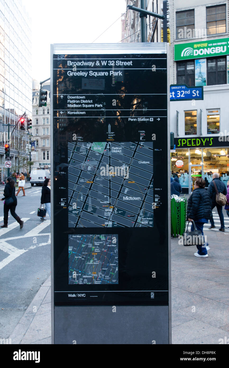 NYC Map New York City Map Map Of New York City New York City On A - New york map restoration hardware