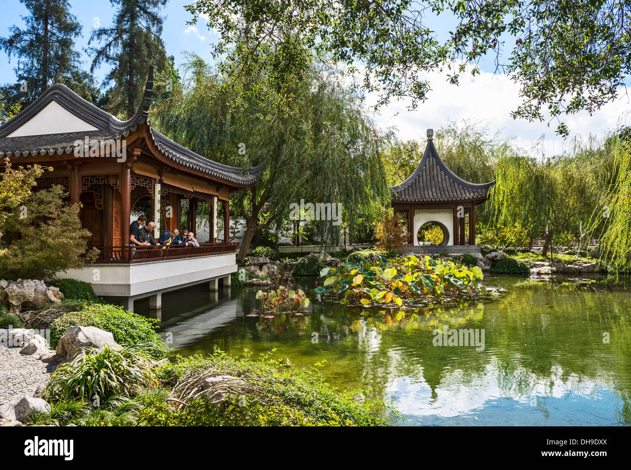 Beautiful Chinese Garden At The Huntington Library Stock Photo Royalty Free Image 62288770 Alamy