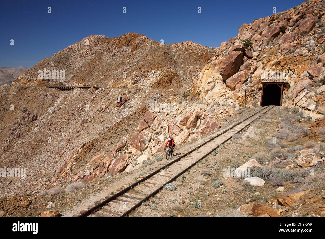 Mountain Biking The Carrizo Gorge Railroad Track Anza Borrego