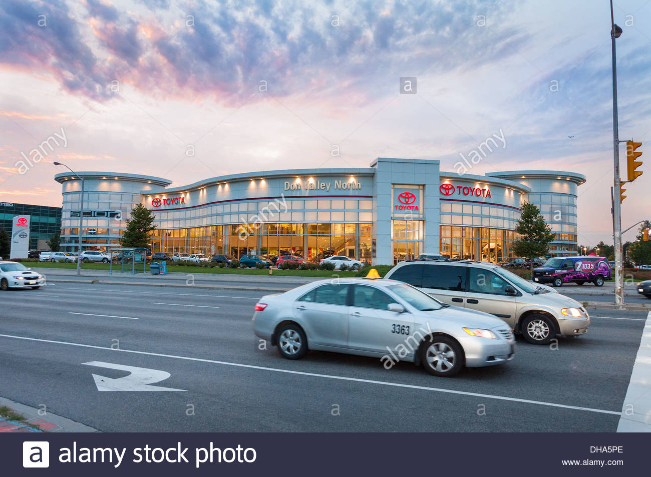 Toyota Dealer In Toronto, Canada. Beautiful Car Dealer In