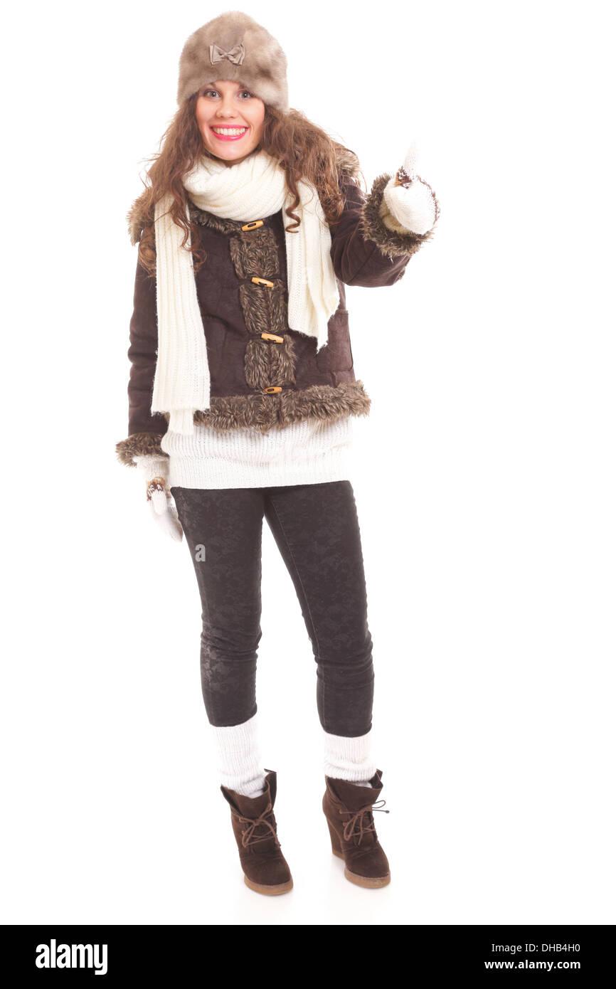 Woman Winter Fashion Beautiful 85