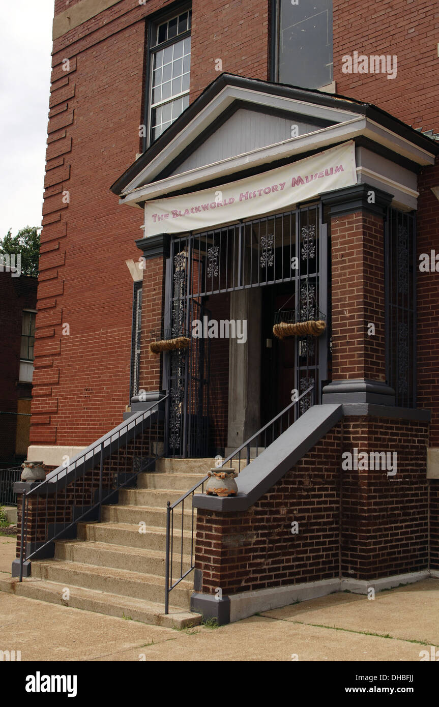 St Louis Black World History Museum Exterior State Of Missouri - Black museums in usa