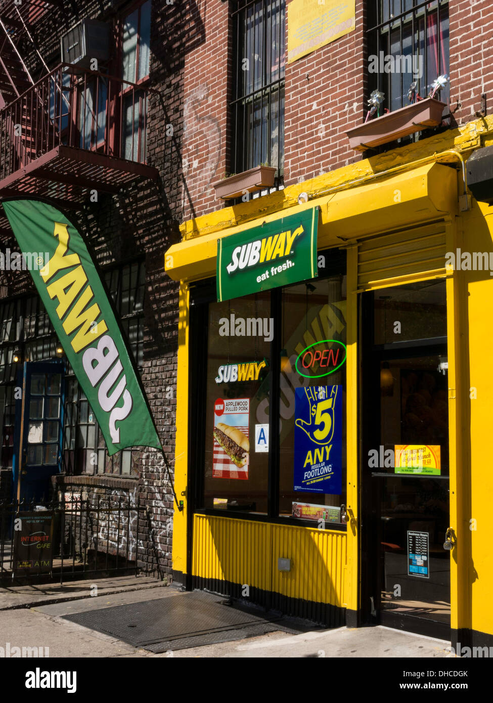 Famous Fast Food New York City