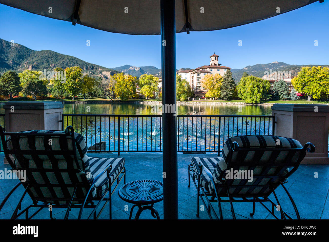 The broadmoor historic luxury hotel and resort colorado springs colorado usa