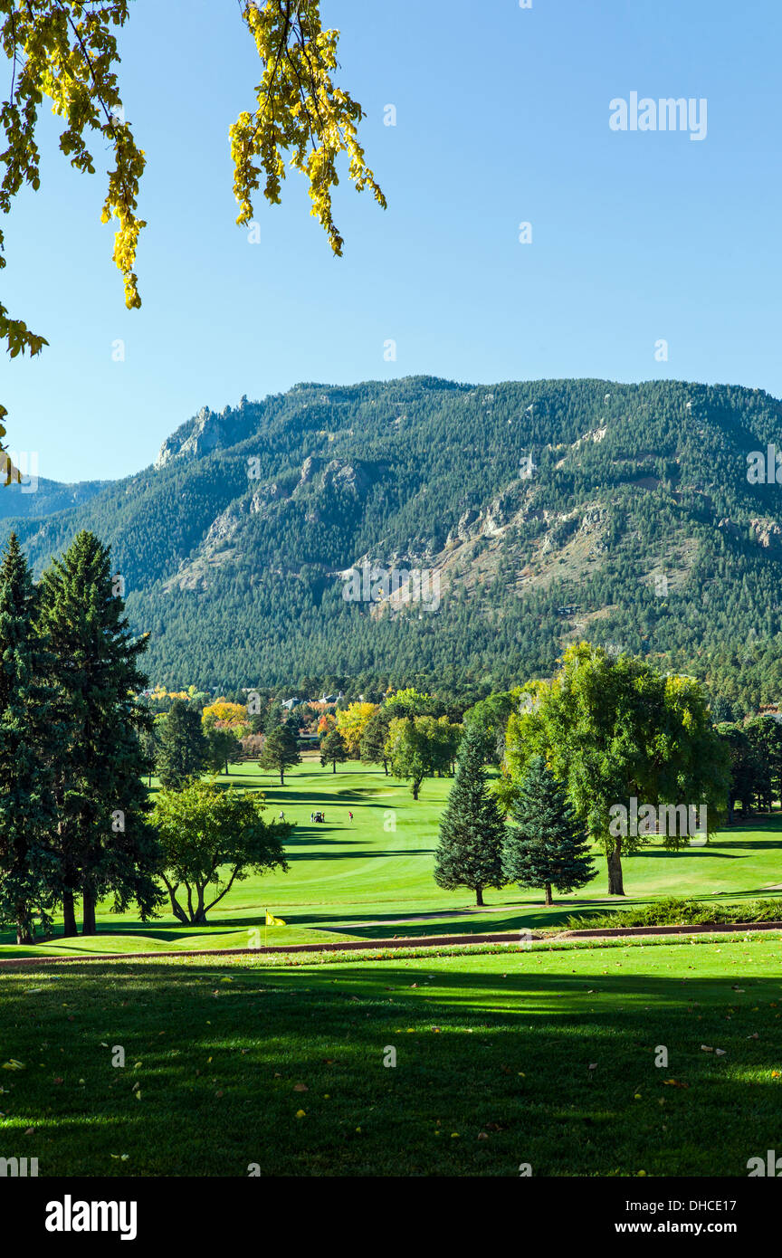 Golf course the broadmoor historic luxury hotel and resort colorado springs colorado usa