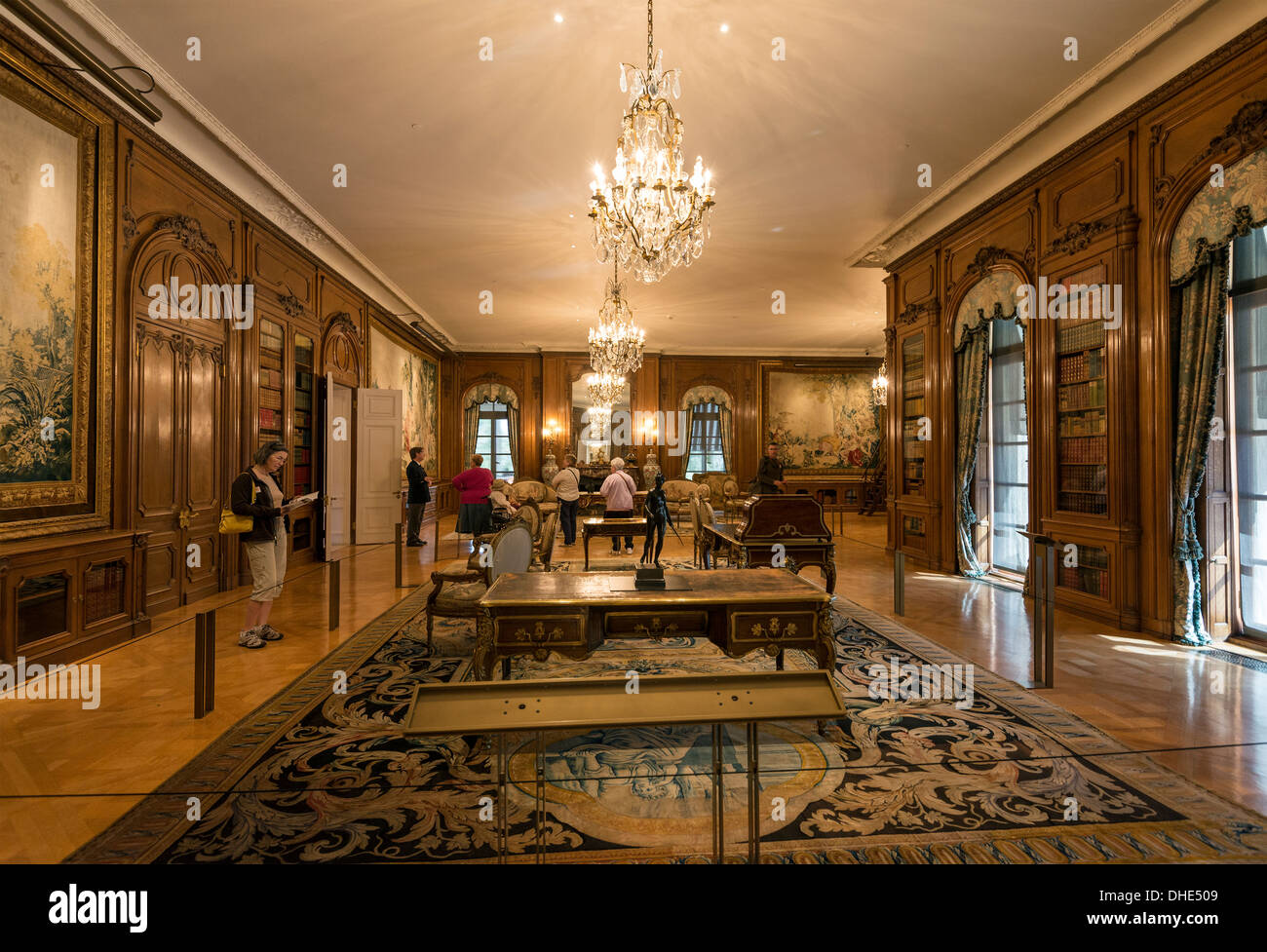 The interior of the beautiful huntington art gallery at for The huntington
