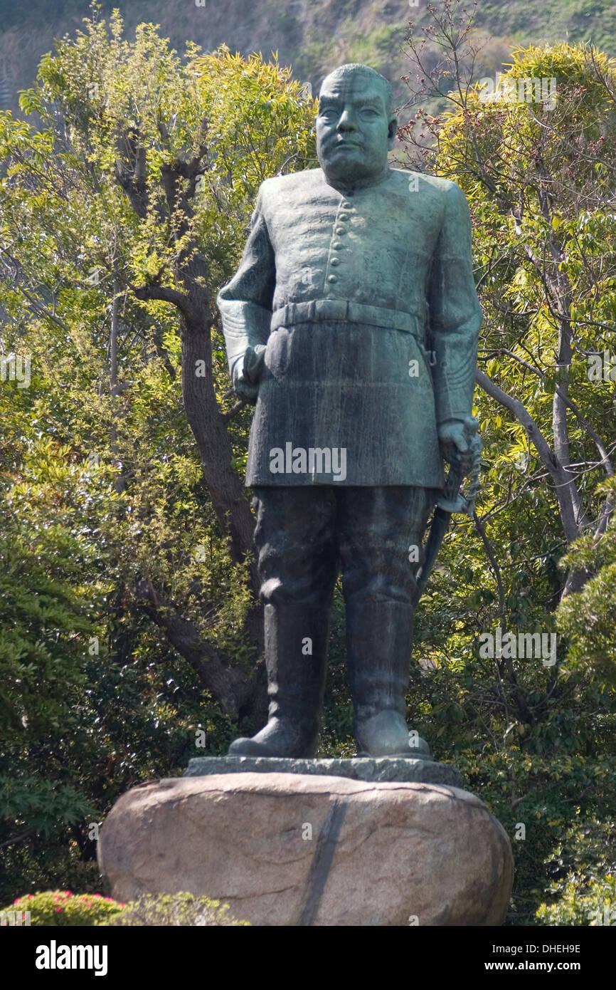Saigo Takamori statue, Kagoshima, Kyushu, Japan, Asia Stock Photo, Royalty Fr...