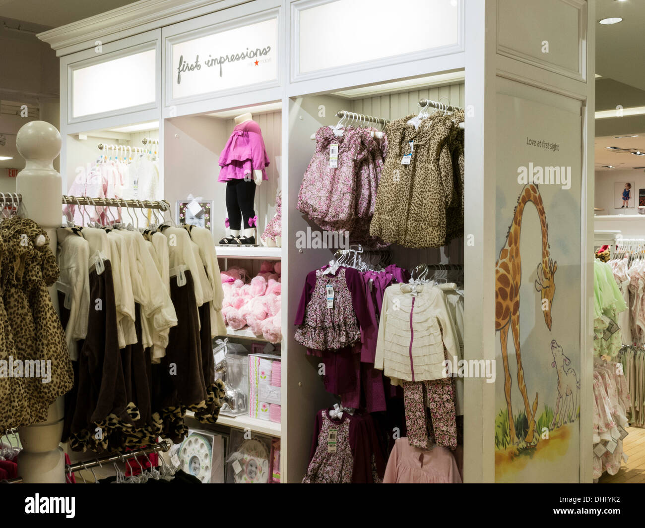 First Impressions Baby Clothes In Macy S Flagship