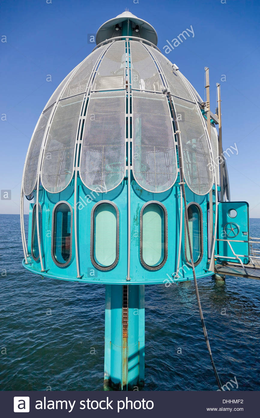 Diving Bell At The Pier Baltic Sea Spa Zinnowitz Usedom