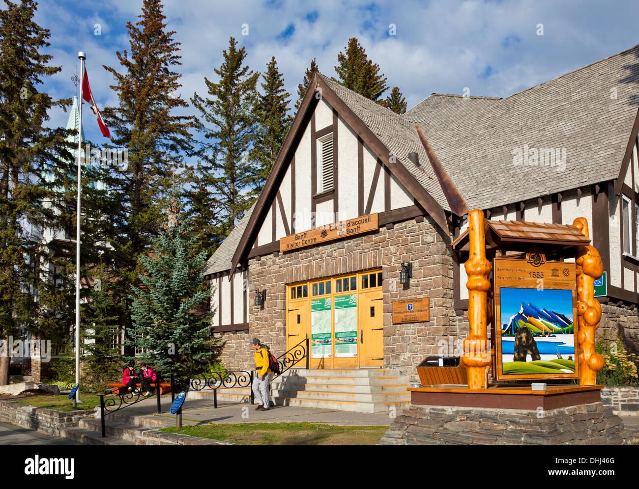 Tourist information bureau Visitor information center Banff town