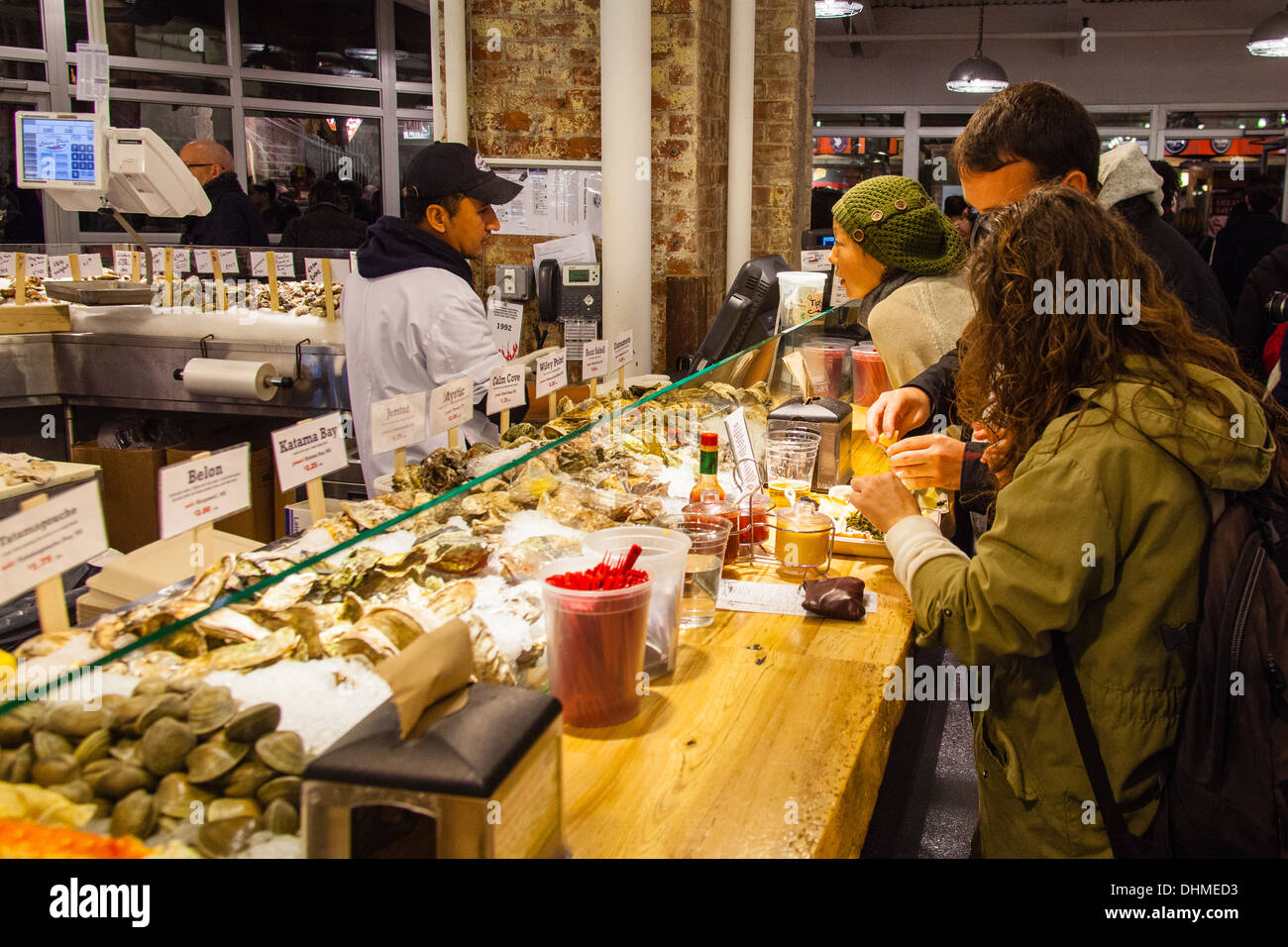 The lobster place seafood market or fishmongers chelsea for Fish market restaurant nyc