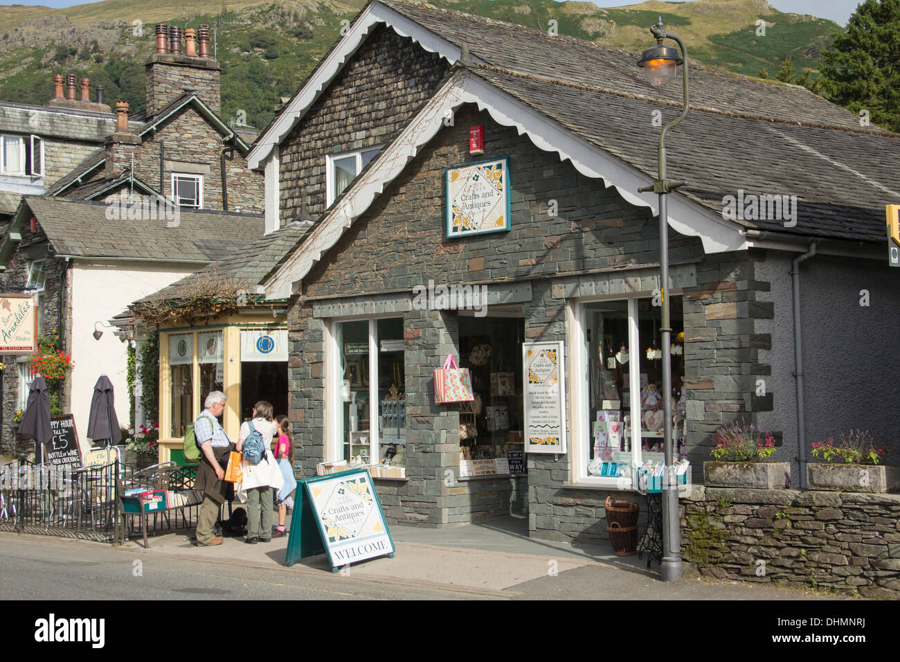The Lakes Craft and Antiques Gallery shop , a Gift shop and ...
