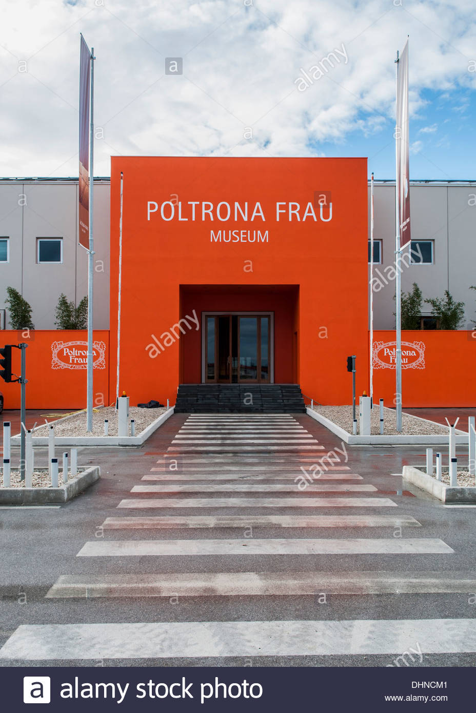 Poltrona Frau Museum,tolentino,marche,italy Stock Photo, Royalty ...