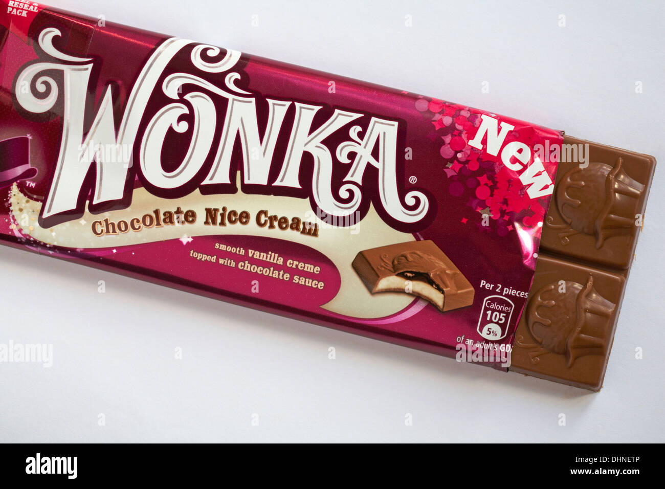 New Wonka Chocolate Nice Cream flavoured chocolate bar out of ...