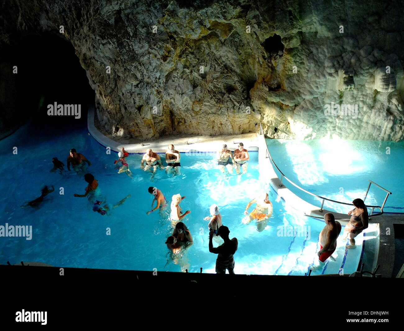 Miskolc Hungary  city photos gallery : Miskolc , Hungary 10th, November 2013 Miskolc Topolca Cave Baths With ...
