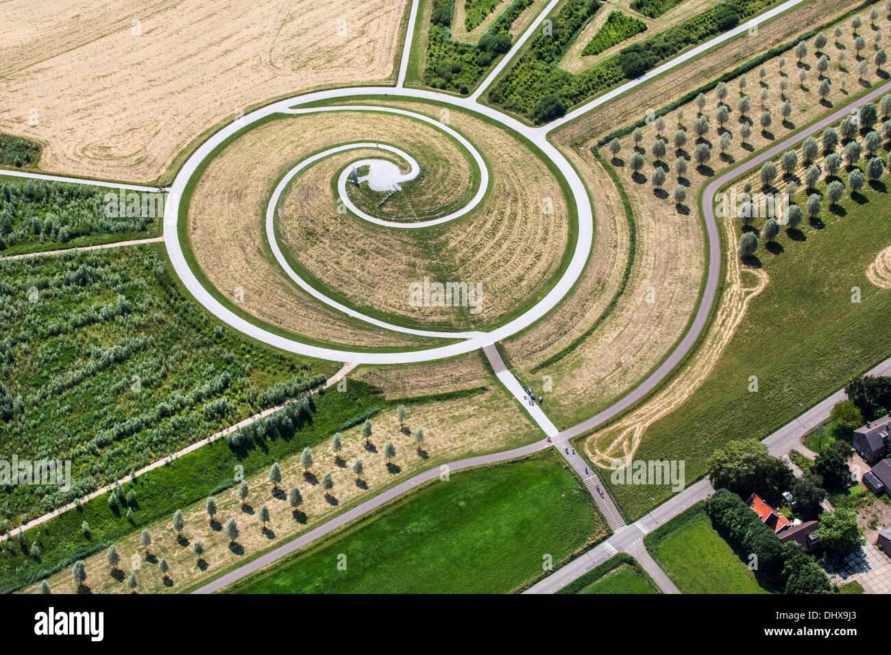 Netherlands Barendrecht Artificial Hill Called