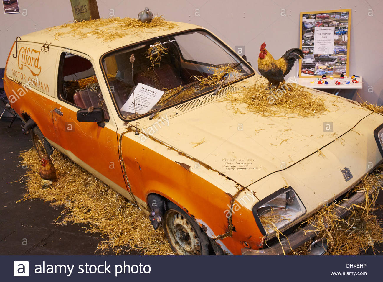 The Inevitable Barn Find On Display Bedford Chevanne Based Vauxhall Chevette Awaiting Restoration Credit M Dash Alamy Live News