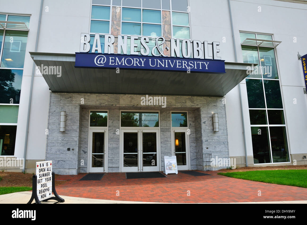 Barnes & Noble Bookstore, Emory University, Atlanta, Georgia, Usa ...