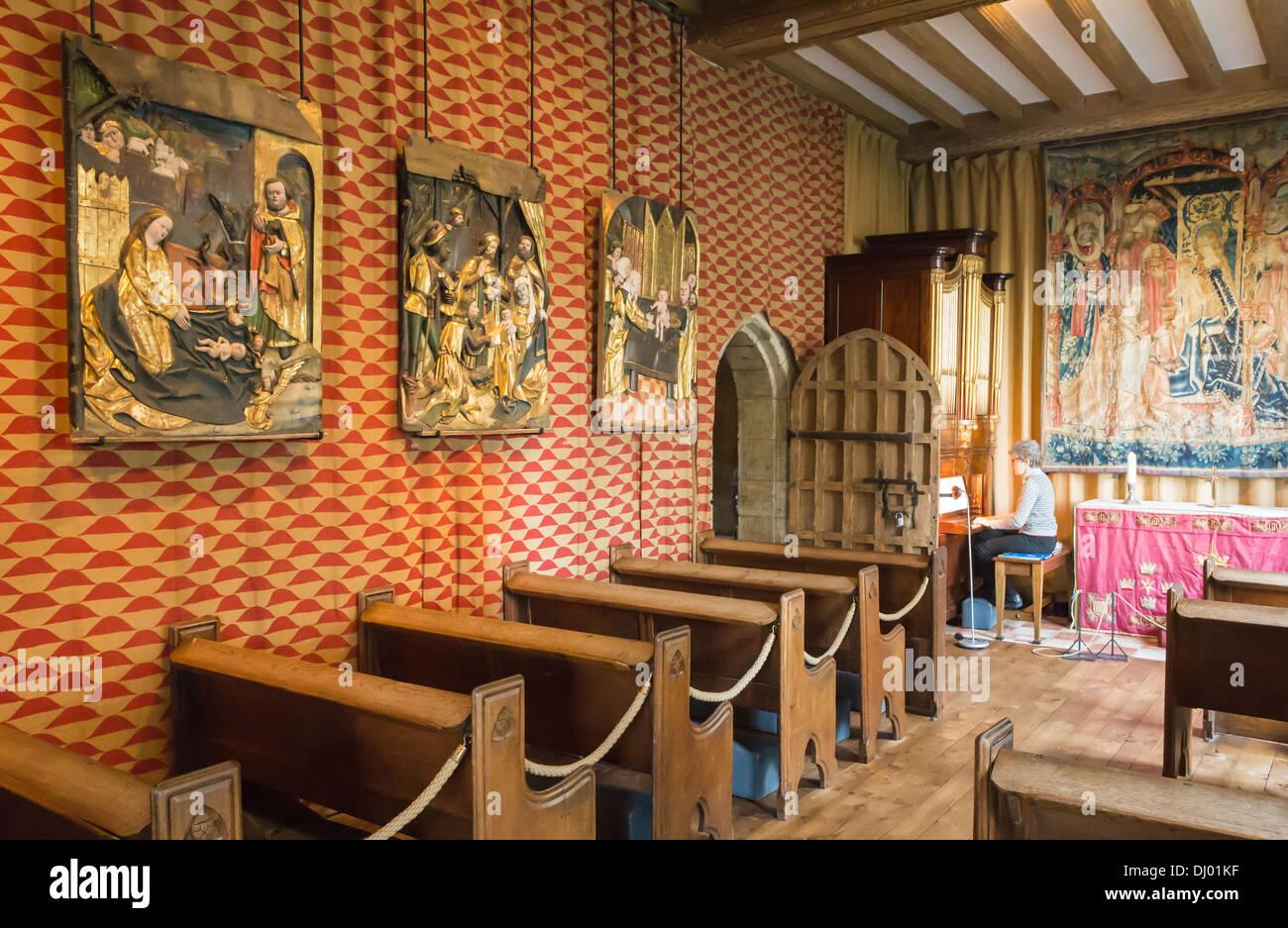 inside castle chapel stock photos & inside castle chapel stock