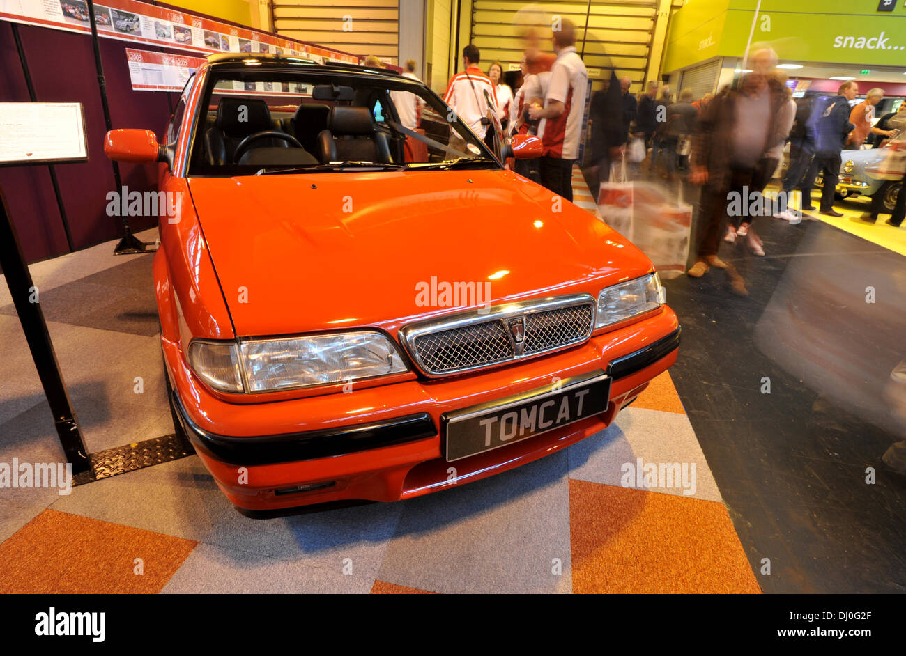 Birmingham, UK. 16th November 2013. Classic and vintage cars on ...