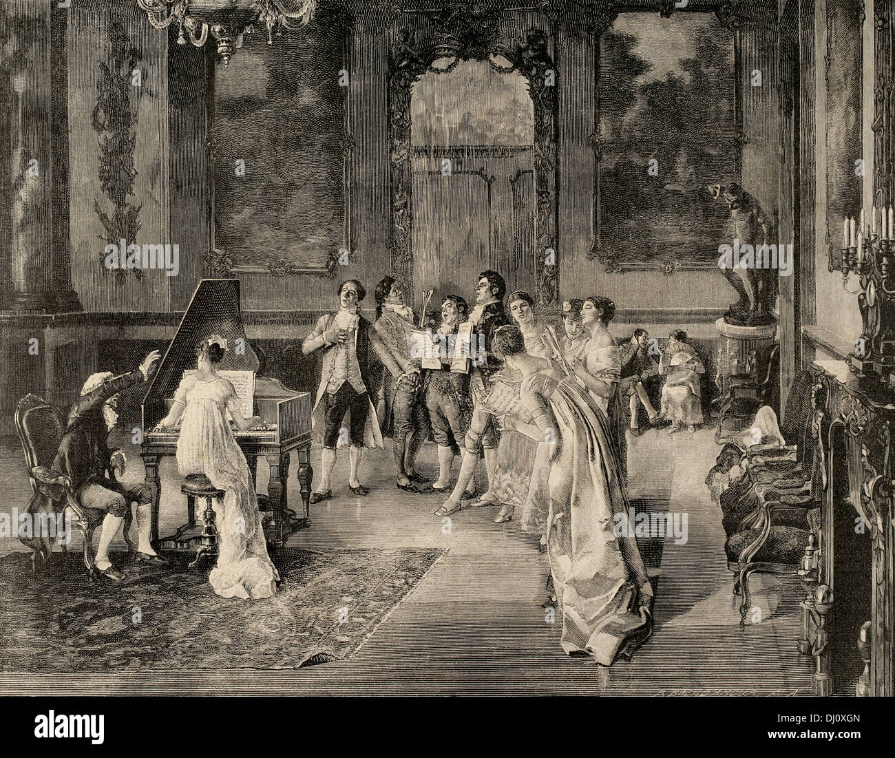 essay of a opera versailles painting of luis jimenez aranda essay of a opera versailles painting of luis jimenez aranda 1845 1928 spanish painter engraving