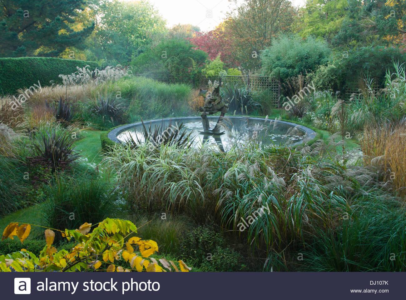 Dragon Garden includes miscanthus Calamagrostis Karl Foerster