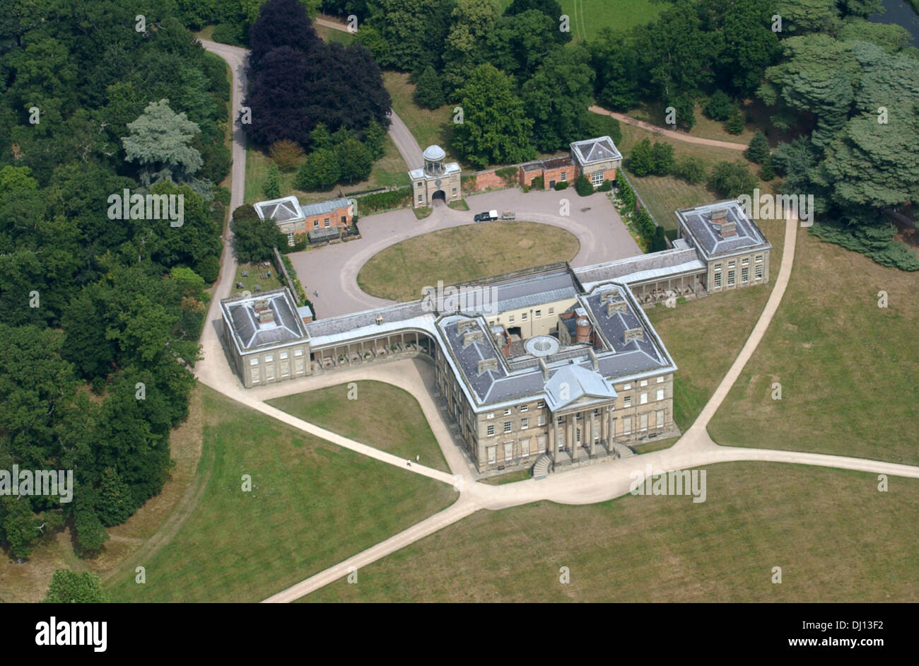 Aerial View Of House And Property