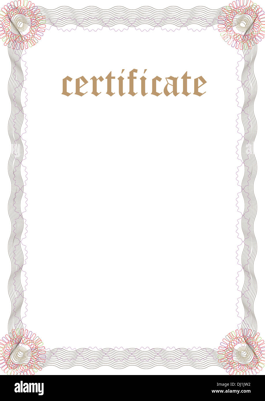 printable stock certificate template .