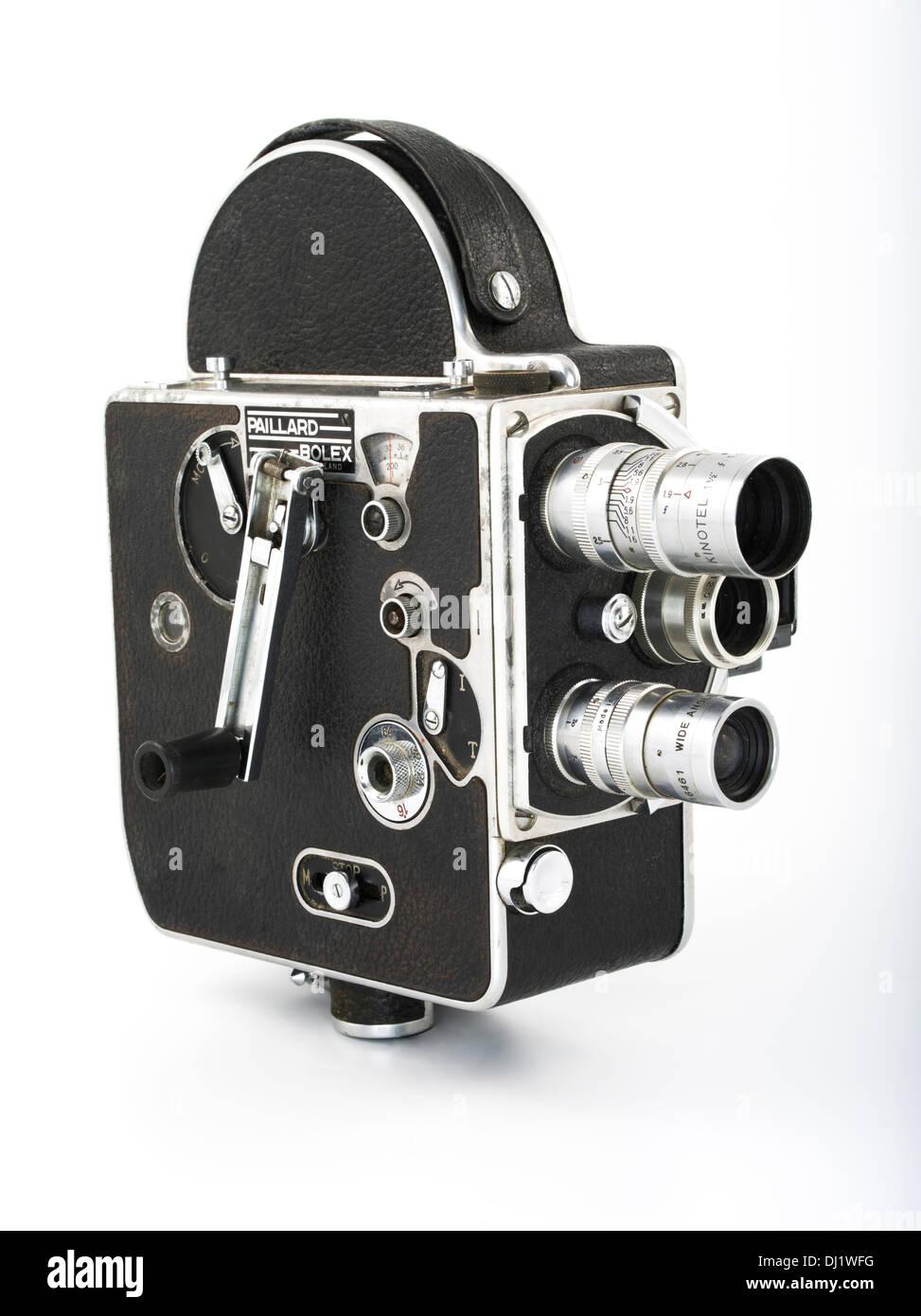 paillard bolex 8mm movie camera stock photo royalty free image 62736900 alamy. Black Bedroom Furniture Sets. Home Design Ideas
