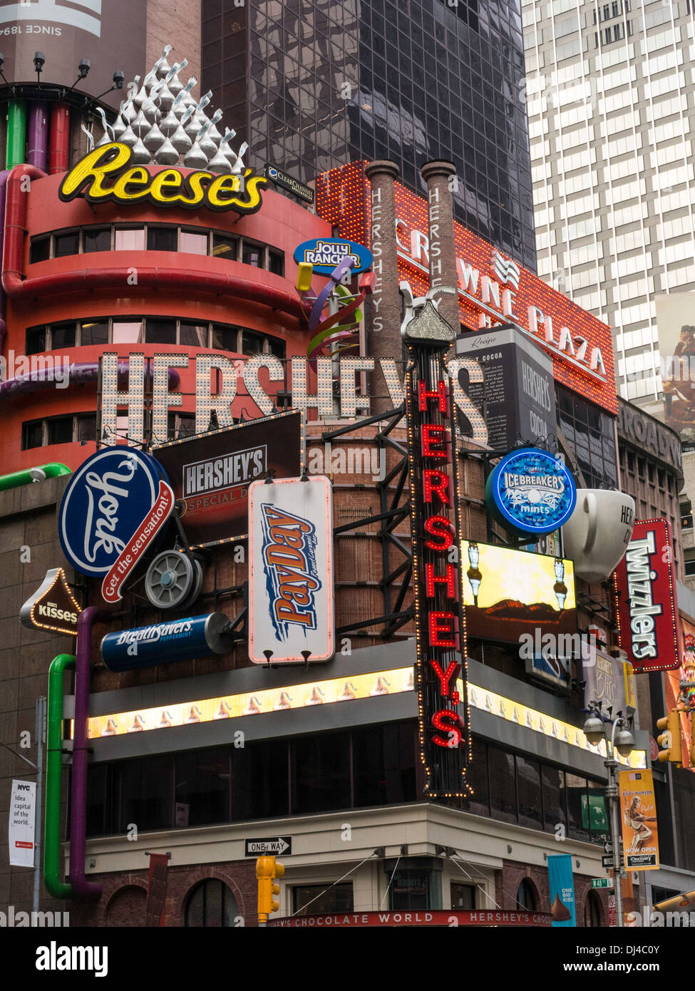 Hershey's Chocolate World Times Square, NYC Stock Photo, Royalty ...