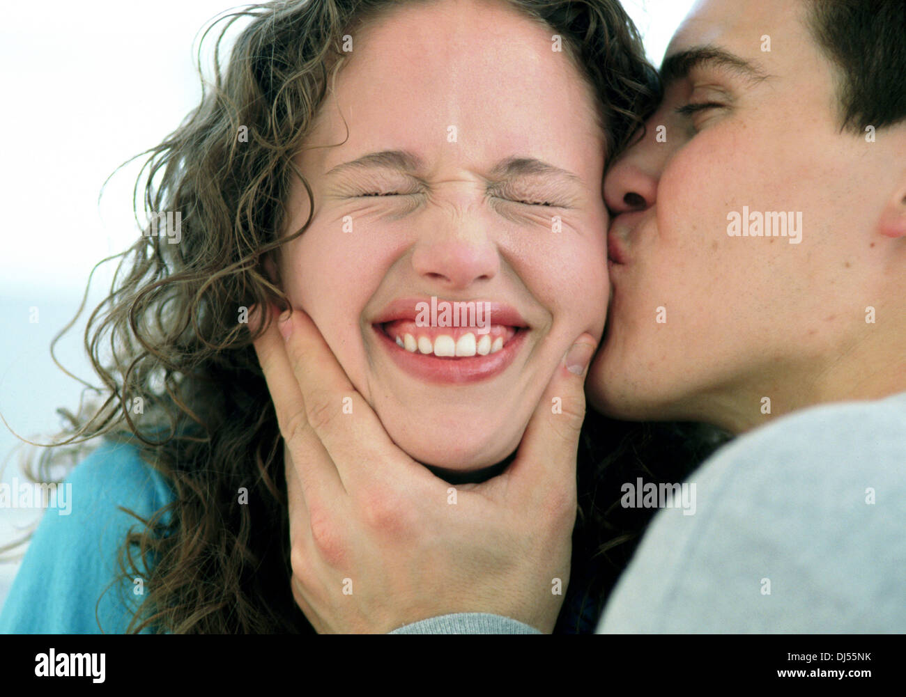 Christian dating kiss on the cheek