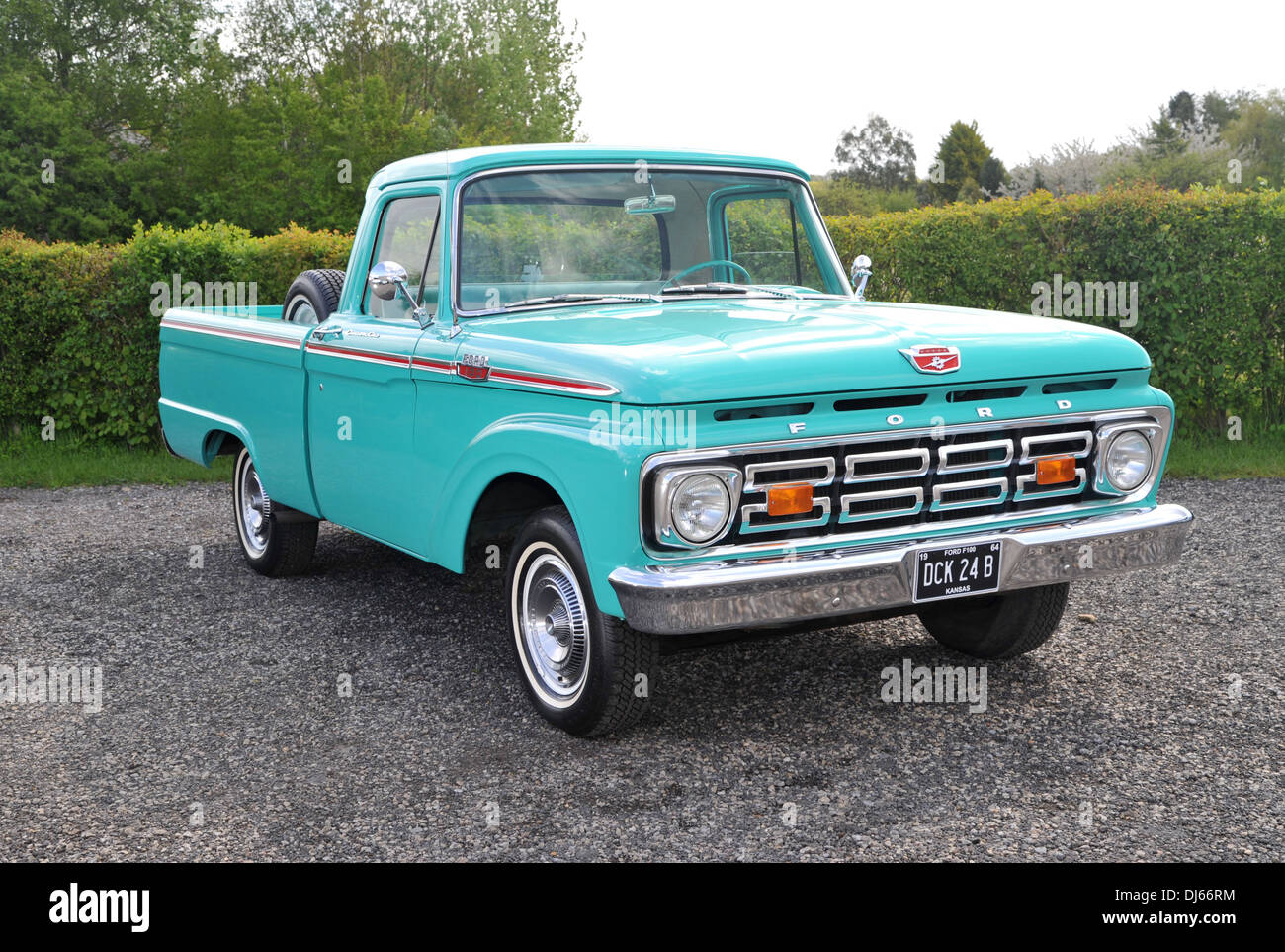 1964 ford f100 classic american pick up truck stock photo royalty free image 62831992 alamy. Black Bedroom Furniture Sets. Home Design Ideas