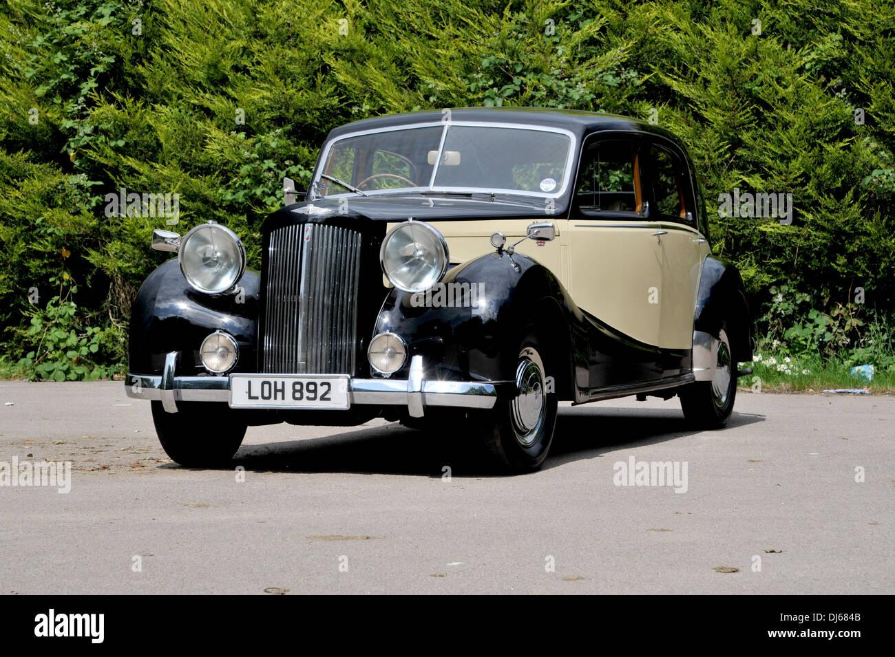 1953 Austin Sheerline classic British luxury car Stock Photo ...