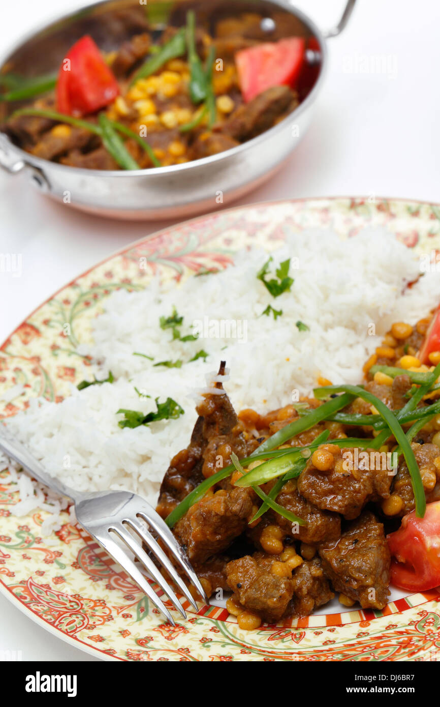 Indian Style Meatball Curry