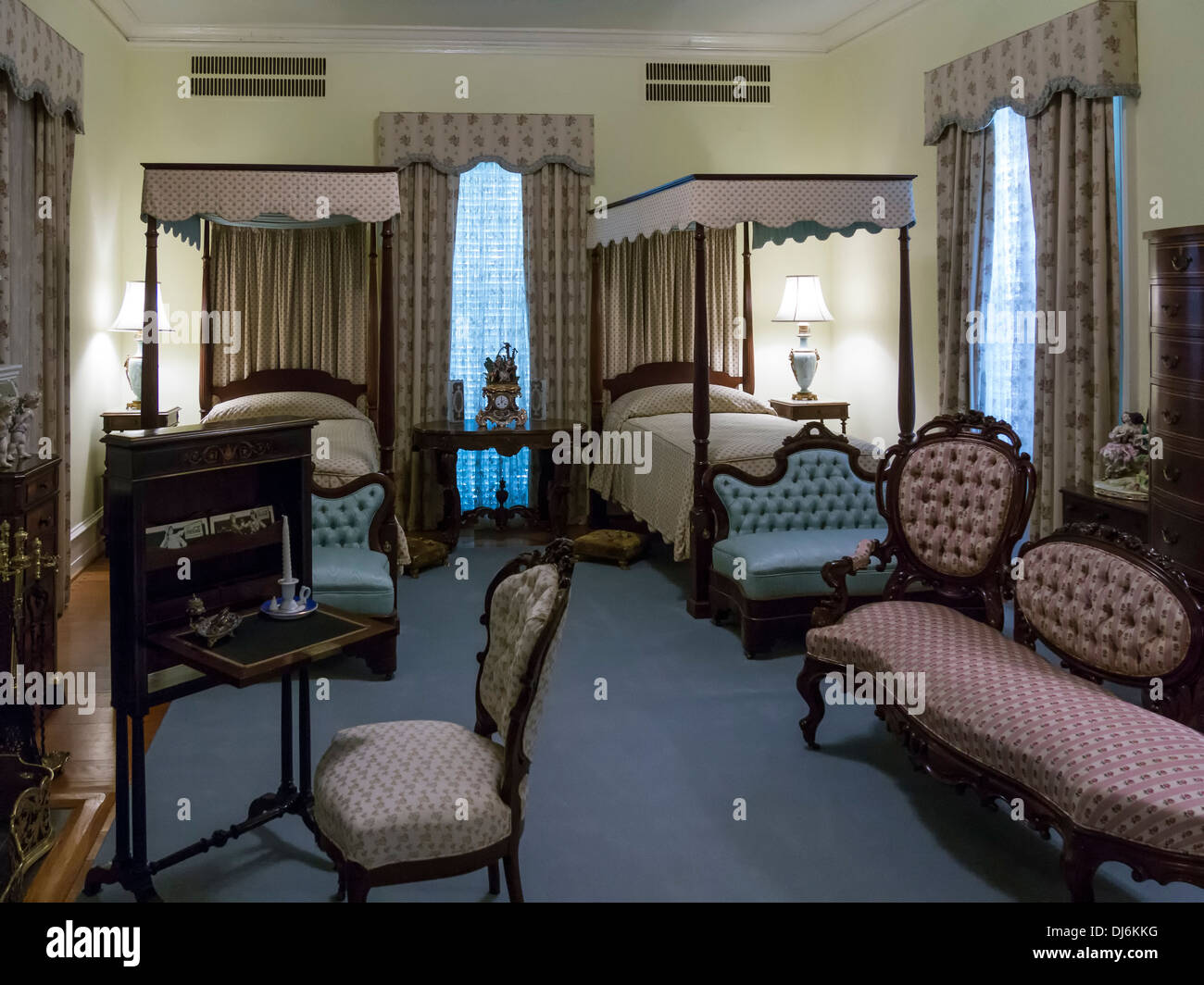 Inside The Bellingrath Home Bellingrath Gardens And Home Theodore Stock Photo Royalty Free