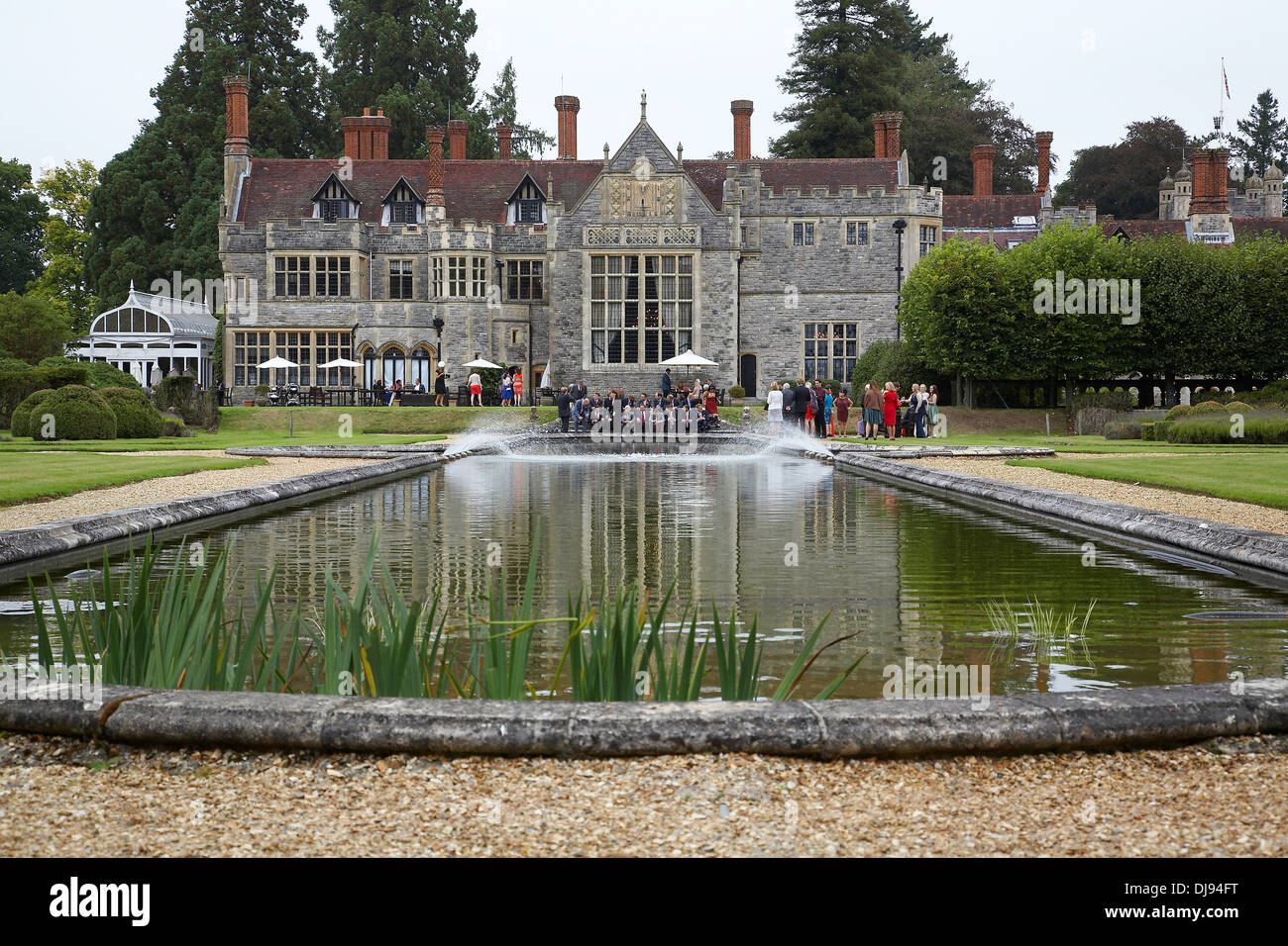 Rhinefield House An Old Historic Hotel Often Used As A Wedding Venue Situated In The New Forest Hampshire England UK