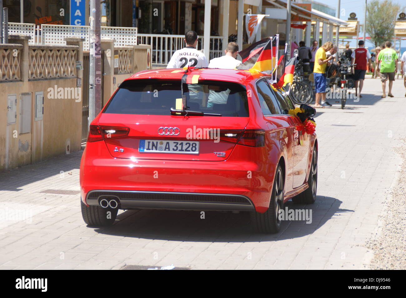 German Car Maker Audi Filming A Commercial For New A At - Audi car maker