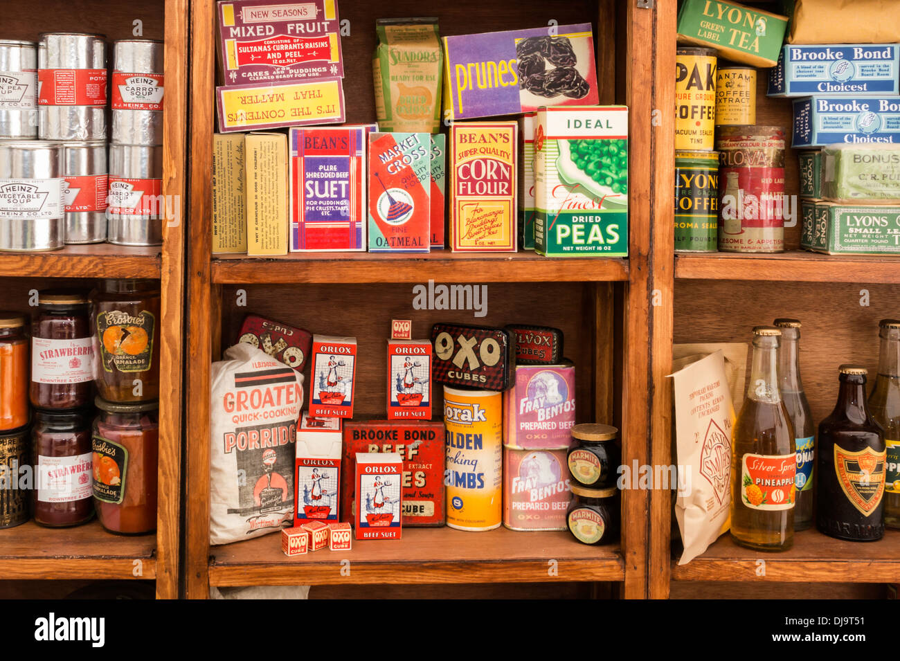 Old Fashioned Kitchen Provisions Dry Goods War Time