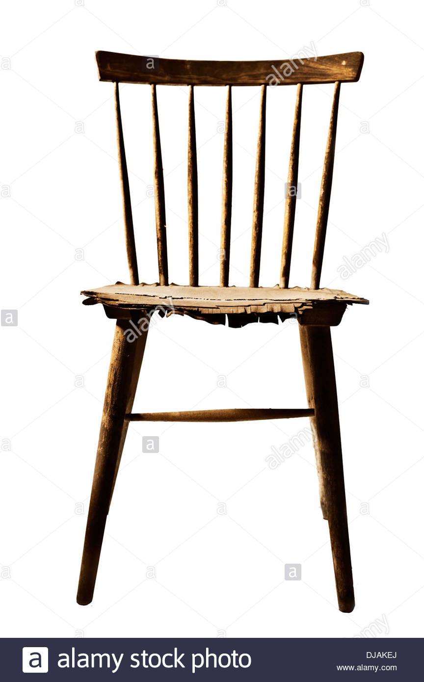 Old Broken Wooden Chair