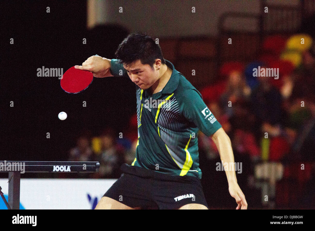 Erick Higa Of Brazil V GB In The Table Tennis At National Paralympic Day Copper Box Queen Elizabeth Olympic Park