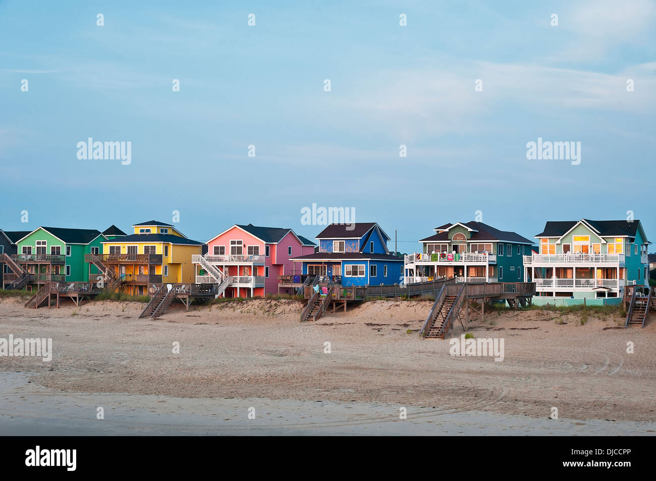 Waterfront Beach Houses Nags Head Obx Outer Banks