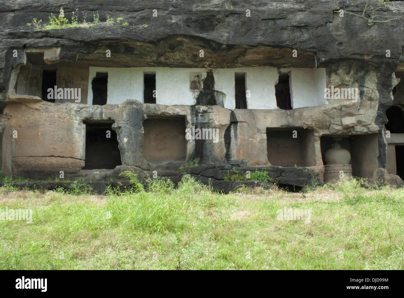 ambika stock photos ambika stock images alamy amba ambika group of caves junnar dist pune general view of amba