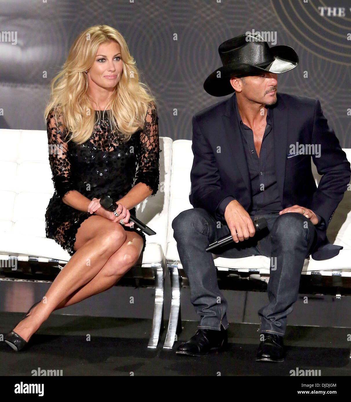 Faith Hill Tim Mcgraw Country Music Superstars Tim Mcgraw And Faith Stock Photo Royalty Free