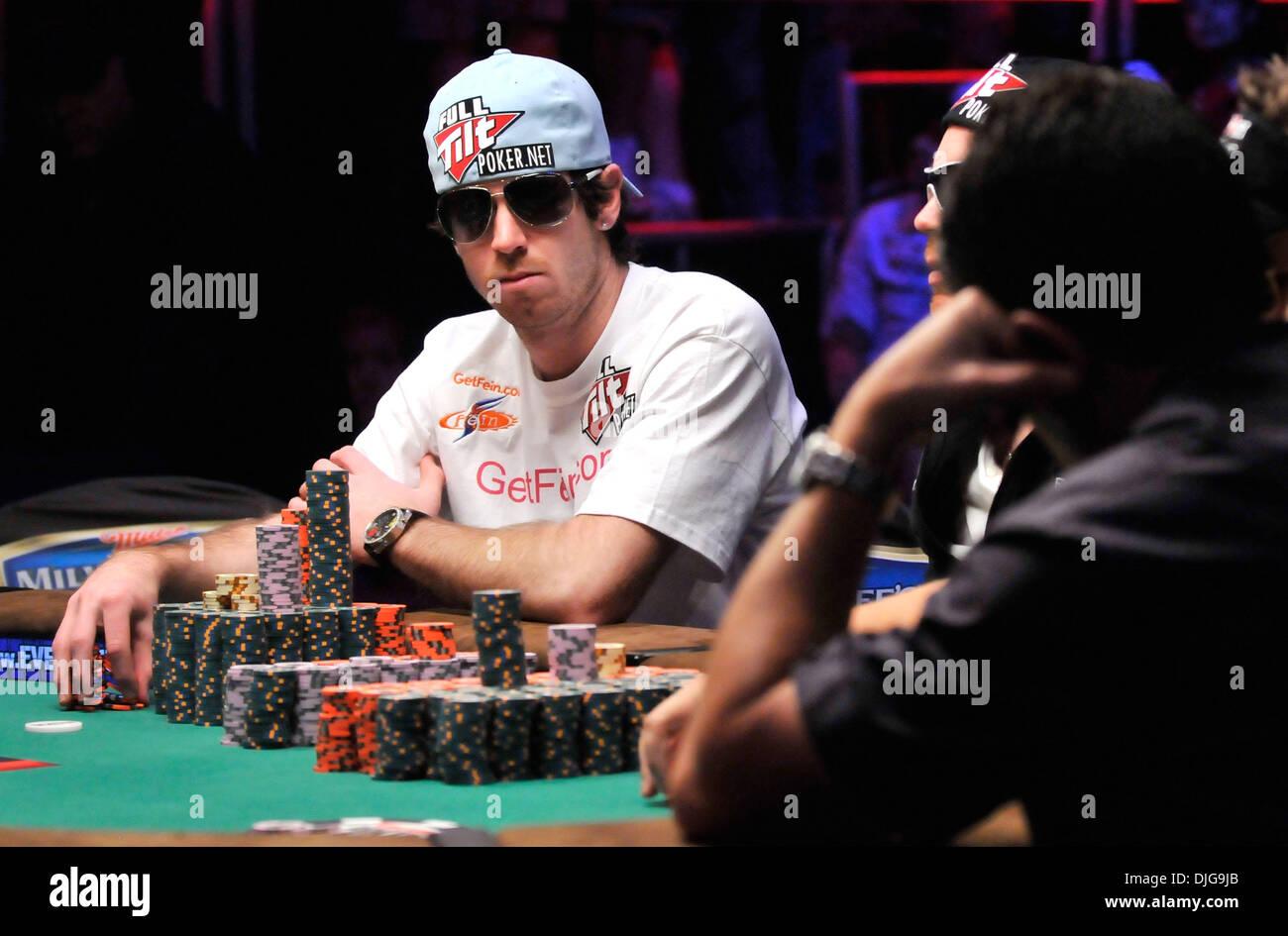 Poker players in vegas