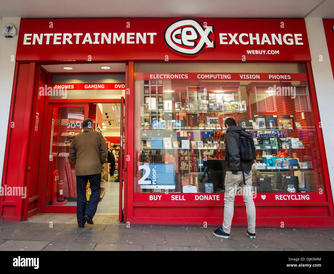 Entertainment Exchange CEX Webuy.com Stock Photo: 63112580