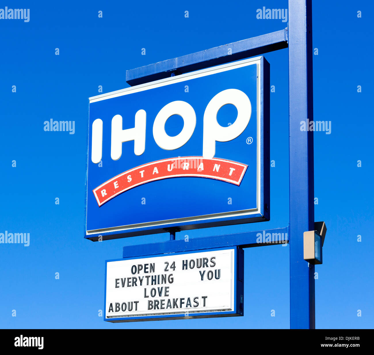 Ihop Restaurant Sign, Central Florida, Usa Stock Photo, Royalty ...