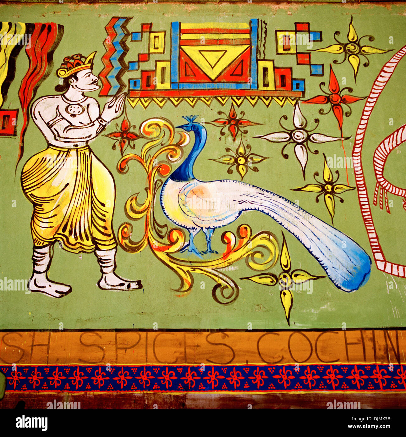 Hindu art in mattancherry fort kochi cochin in kerala in south hindu art in mattancherry fort kochi cochin in kerala in south india in asia religion religious symbol symbolism mughal moghal history beauty travel biocorpaavc Image collections