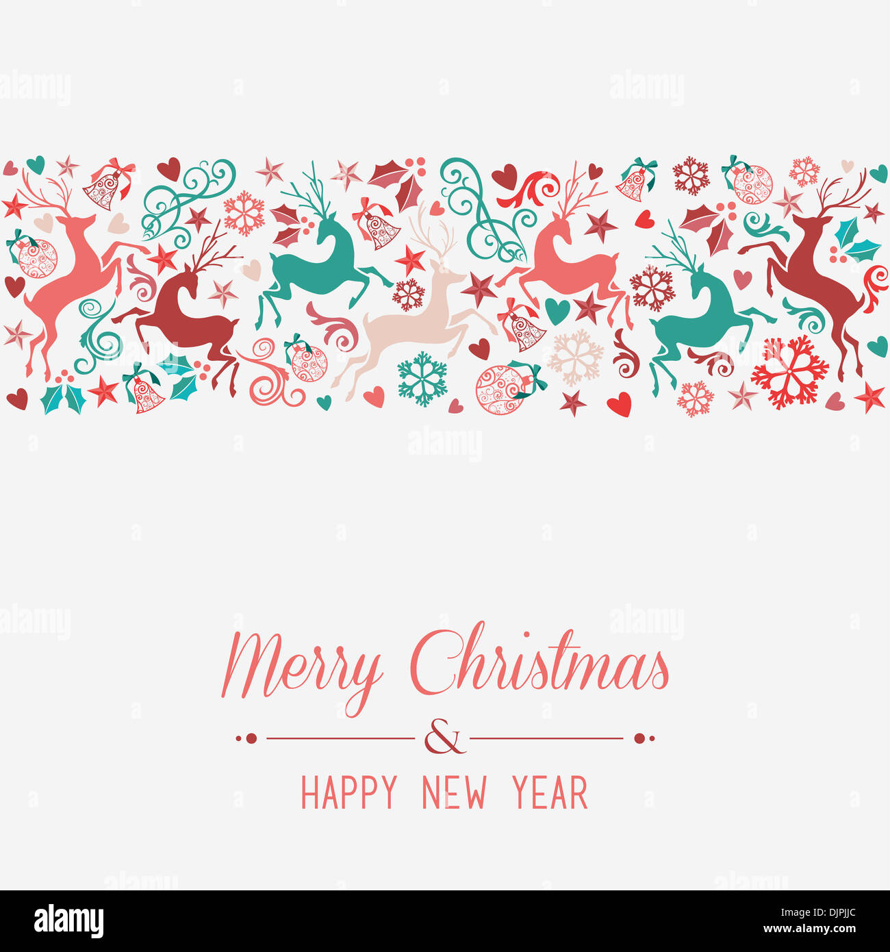 Merry Christmas and Happy New Year banner greeting card ...  Merry Christmas...