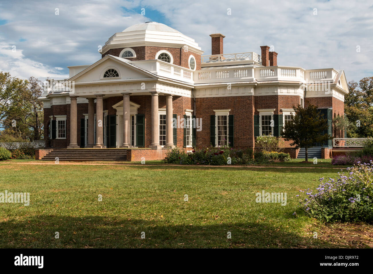 Monticello plantation and world heritage site home of for Thomas jefferson house monticello