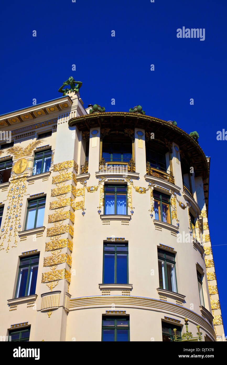 Otto Wagner's Art Nouveau Apartments, Vienna, Austria ...